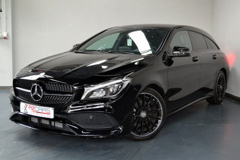 Mercedes CLA 200d Shooting AMG